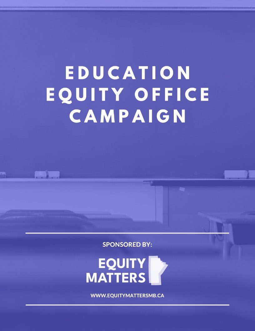 Equity Matters - Letter of Endorsement Cover